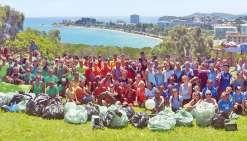 180 élèves de Blaise-Pascal ramassent des déchets au Ouen Toro