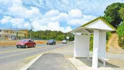 Un nouvel arrêt de bus à Saint-Michel