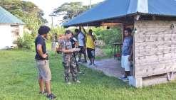 Des tests sportifs pour les jeunes Kunié
