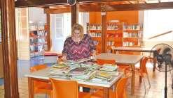 La bibliothèque municipale prend des couleurs