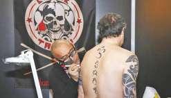 Du tatouage polynésien au Mondial