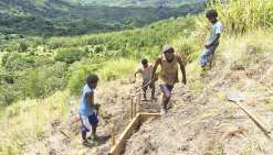 Les jeunes d'Azareu aux petits soins avec l'environnement