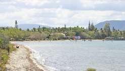 La baignade est interdite à Foué Creek