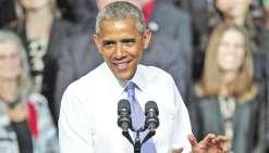 Barack Obama attendu aujourd'hui à Tahiti