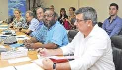 Cinq ambassadeurs de France à Nouméa
