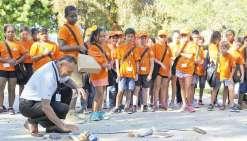 Le conseil municipal junior fait sa rentrée au centre culturel Tjibaou