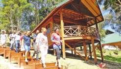 Le gîte l'Oasis de Tendéa inauguré