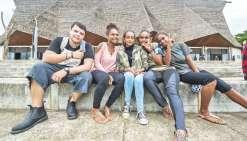 Les lycéens de Saint-Joseph de Cluny partagent au grand air
