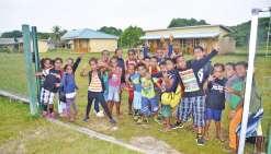 Les élèves de Wakuarory de retour à l'école