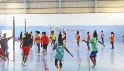 Une grande journée  de volley-ball à Hnassé