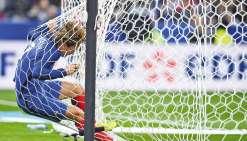 La France chute face à l'Espagne