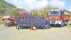 Plus de 840 interventions  pour les sapeurs-pompiers en 2016