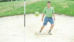 Au golf de Dumbéa, ça va swinguer... avec les pieds !