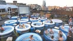 Le Hot Tub Cinéma  arrive à Sydney