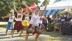 Danses et chants traditionnels s'invitent à la bibliothèque Denise-Frey