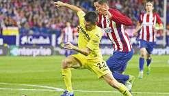 L'Atlético Madrid chute à Villareal