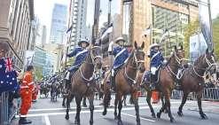 Aussies et Kiwis célèbrent l'Anzac Day