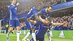 Chelsea se rapproche du titre en Angleterre