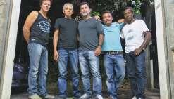 Cinq garçons qui chérissent le rock progressif