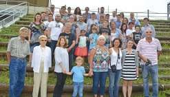Les descendants de Jean Eschenbrenner réunis à Téremba
