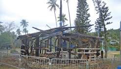 Case incendiée : la mairie réagit