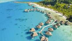 Un nouvel ensemble hôtelier de luxe à Bora Bora