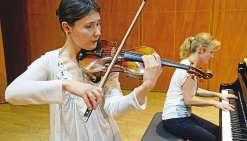 Fanny Clamagirand, le violon chevillé au corps
