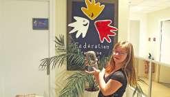 Delphine André s'offre un doublé national
