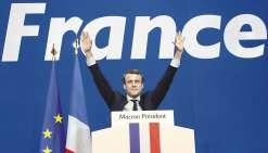 Emmanuel Macron, président et en ordre de marche !