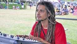 Gustavo, maître du son  à la Fête de l'avocat