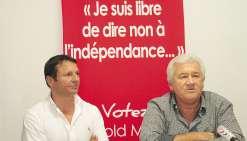 Grégoire Bernut, suppléant du candidat Harold Martin