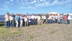 La ferme solaire de Boulouparis voit le jour