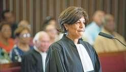Nadine Pidjot a prêté son serment d'avocat