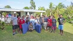 Les lycéens offrent leurs matelas aux victimes de Donna