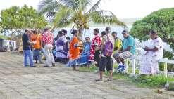 Le collectif des usagers de Drehu reçu à la province