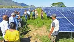 La centrale solaire de Témala rayonne depuis un mois