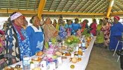 Les mamans à l'honneur au marché de Wé