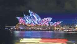 Sydney en voit de toutes les couleurs