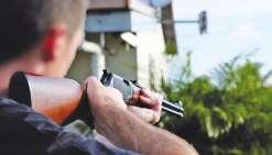 Il avait tiré un coup de fusil sur son cambrioleur