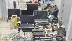 Des dizaines d'objets volés ont été retrouvées lors de perquisitions. Les propriétaires sont appelés à se présenter au commissariat central de Nouméa.