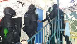 Les policiers sont descendus à Tindu, hier matin, pour interpeller le reste de l'équipe  de cambrioleurs encore dans la nature.