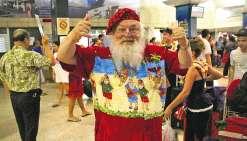 Le père Noël en vacances à Moorea