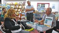 Michel d'Estrètefonds réunit son club pour présenter son roman