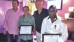 Deux salariés de Reprex ont reçu la plus haute médaille du travail