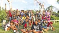 La tribu d'Aremo partage son savoir
