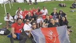 Onze médailles  pour les Cagous à Fidji