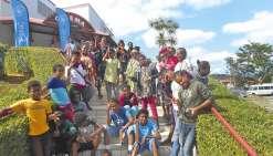 Le collège protestant de Do-Mwa au festival de La Foa