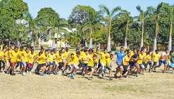 Les élèves du collège Djiet  à l'assaut de Déva