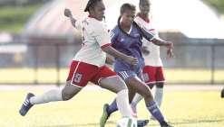 Les Calédoniennes battent les Samoanes