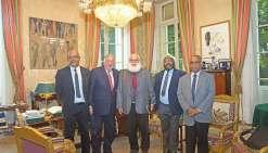 L'UNI reçue à Paris par le président du Sénat